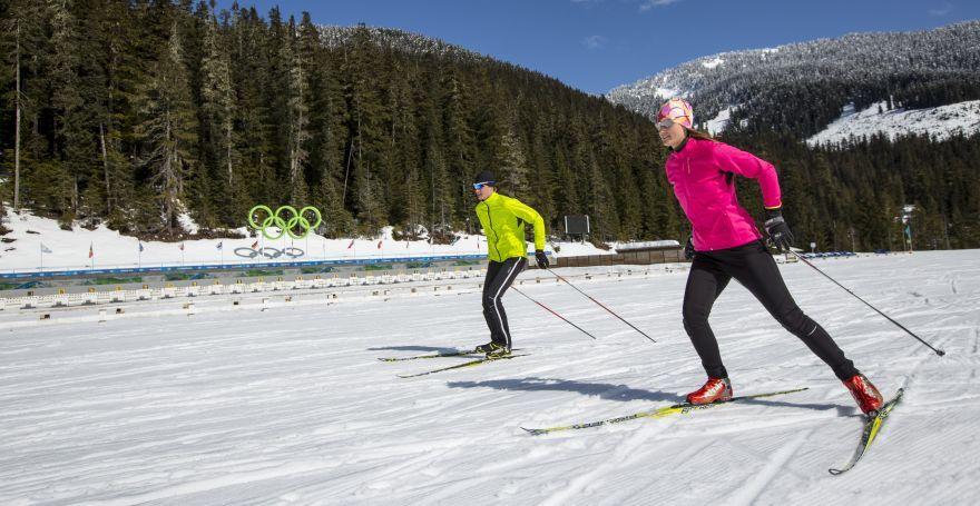 Cross Country Skiing Whistler Sport Legacies Cross