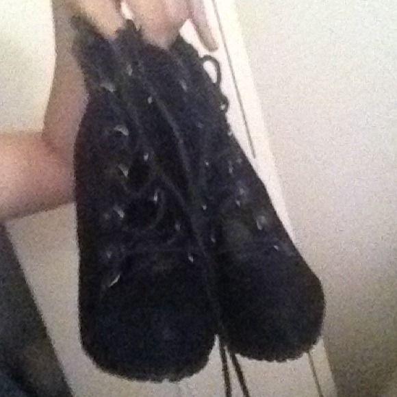 Black hells Black high hells from Zara Zara Shoes