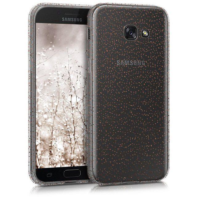 Kwmobile Handyhulle Hulle Fur Samsung Galaxy A5 2017 Tpu Silikon Handy Schutzhulle Cover Case Glitzer Punkte Design Online Kaufen Handy Schutzhulle Schutzhulle Handy