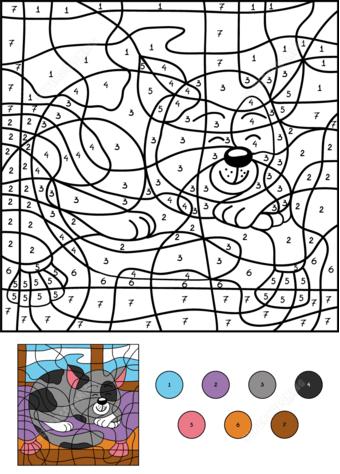 colornumber | herbst ausmalvorlagen, malen nach zahlen kinder, wenn du mal buch