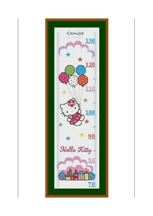 Pin By Susana Velasquez On Growth Chart Pinterest Hello Kitty