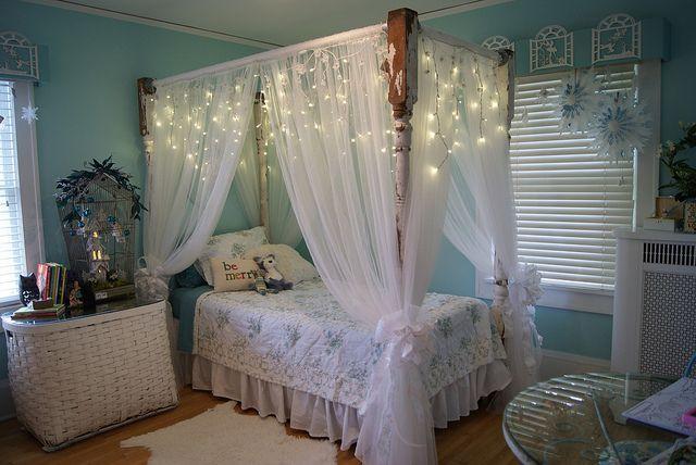 All sizes | Winter wonderland fairy themed girl's bedroom ...