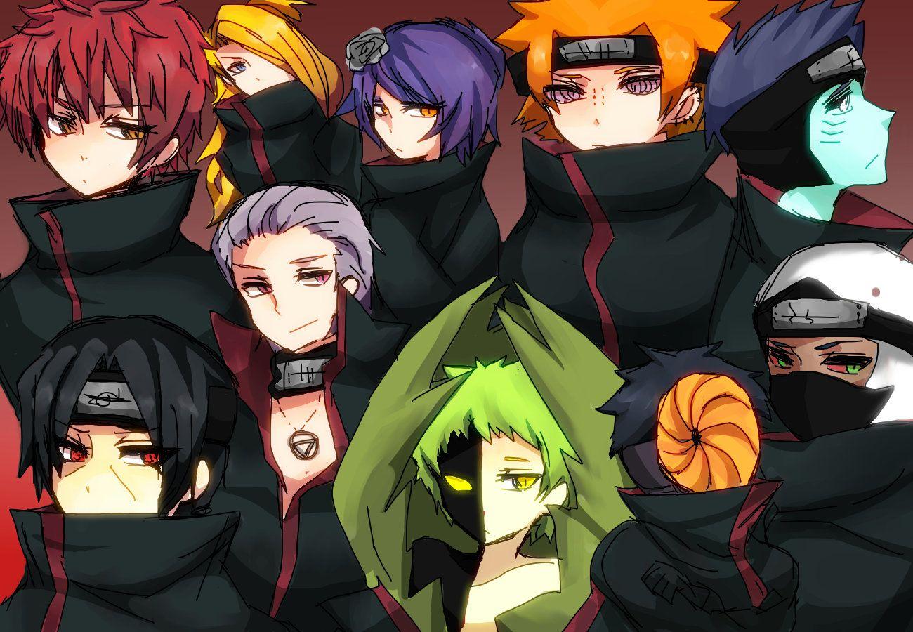 Hidan kakuzu sasori konan deidara akatsuki - Naruto boards ...