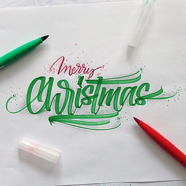 Lettering & Calligraphy Inspiration by David Milan