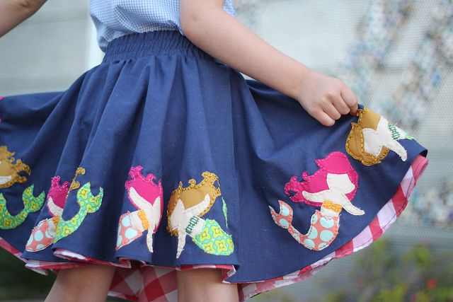 Mermaid Skirt by bitsy bear