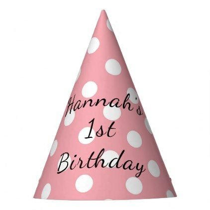 Personalized Happy Birthday Party Hat Birthday Gifts Party Celebration Custom Gift Ideas Diy Birthday Party Hats Happy Birthday Parties Diy Birthday Gifts
