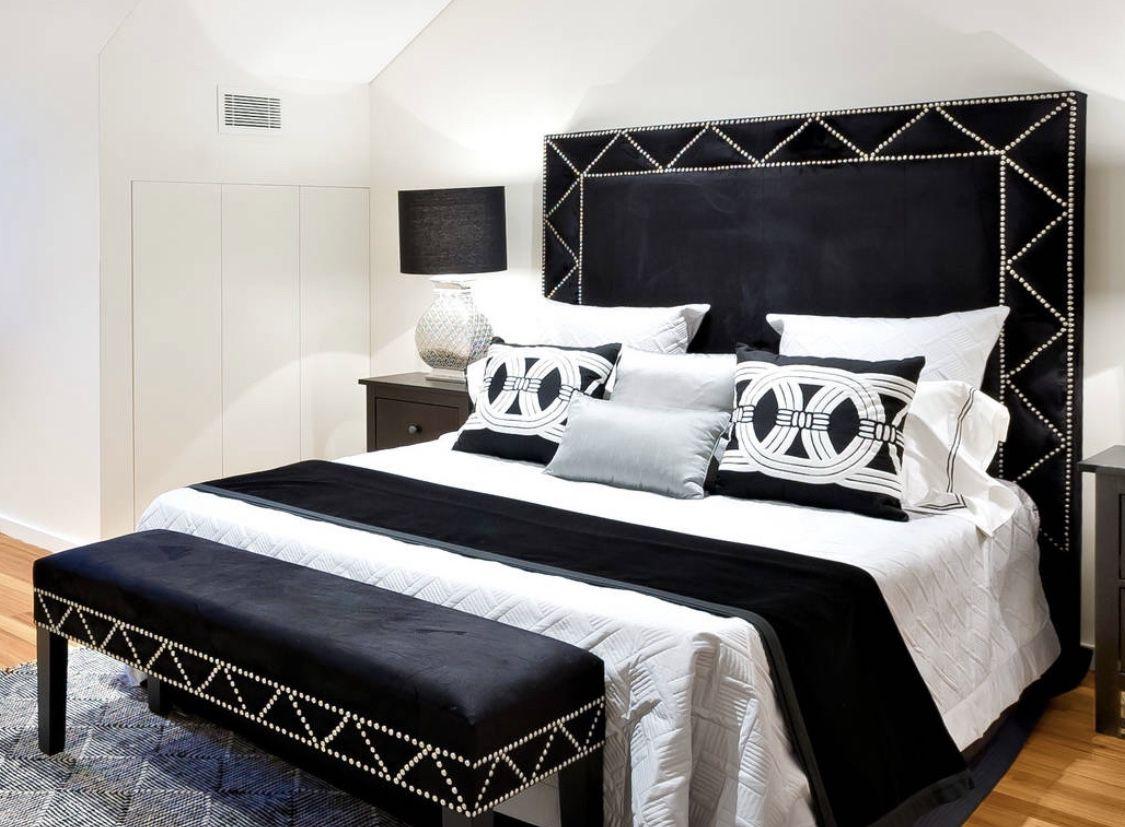 Gorgeous Black And White Bedroom Art Deco Bedroom Beautiful Bedrooms Bedroom Design
