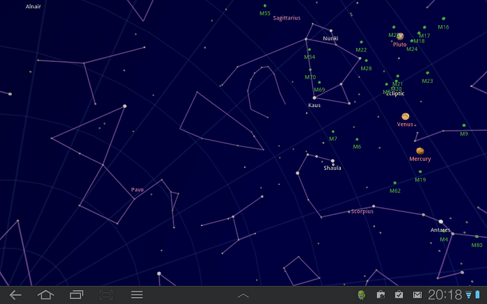 5 MustHave Apps for Your Smarphone App, Google sky map