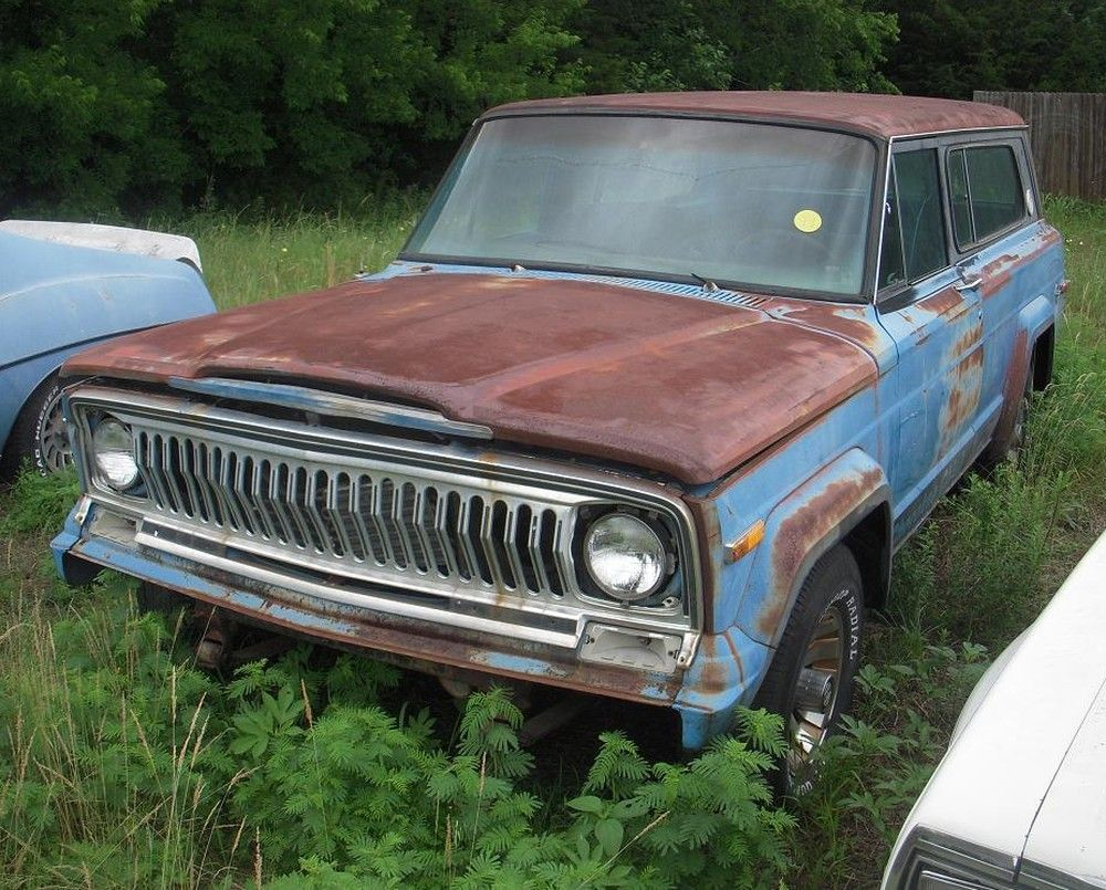 Junkyards And Abandoned Vehicles Hemmings Daily Jeep Wagoneer