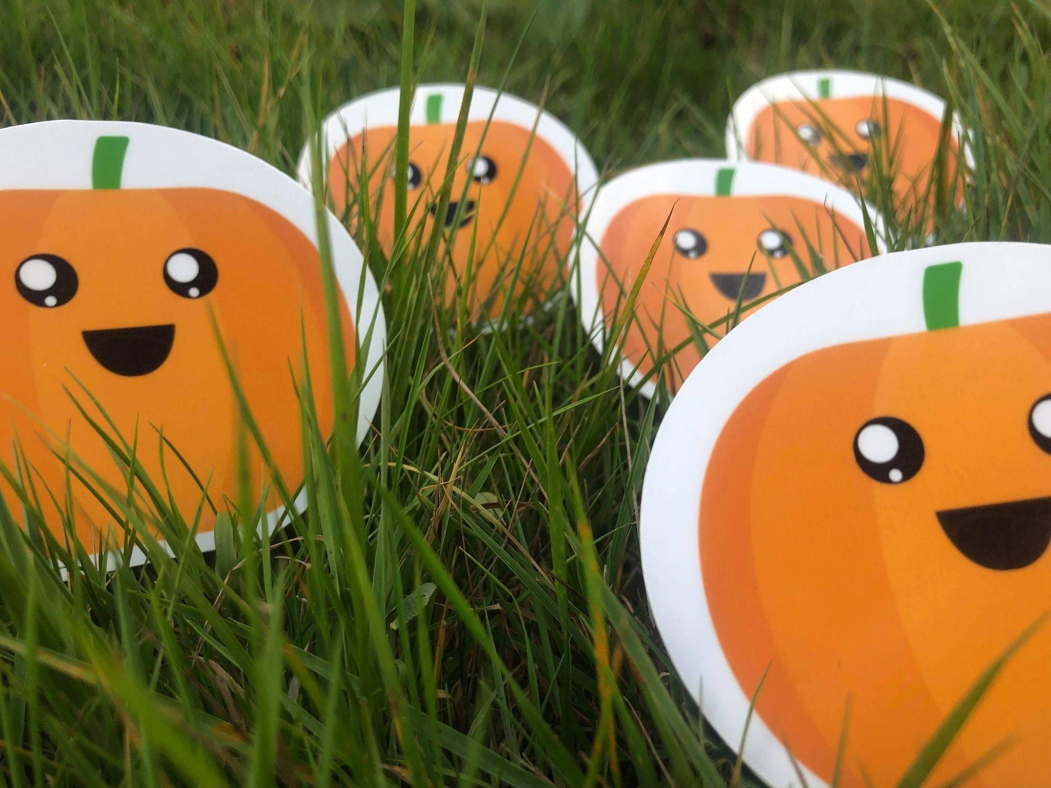 Happy Halloween Pumpkin Sticker , Halloween Vinyl Sticker, Medieval Sticker, Horror Sticker, Halloween stickers, water resistant stickers #DndFantasyDecal #WaterBottleSticker #PumpkinPatchDecal #OrangeVinylSticker #MediumSizeSticker #GothicSpookyPet #NotepadAccessory #AutumnSalemSpooky #HappyFruitSticker #GothEmoPunkDecal