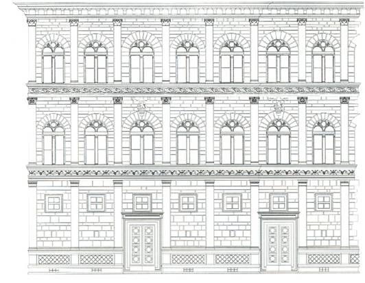 Palazzo rucellai seg dlet pinterest palazzo and for Architecture quattrocento