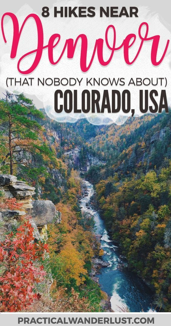 The 8 Best Day Hikes Near Denver, Colorado (That Nobody Knows About) #hikingtrails