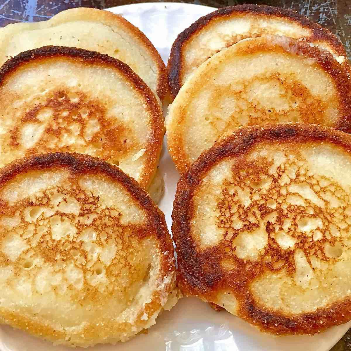 Easy hoecakes aka fried cornbread and johnnycakes recipe