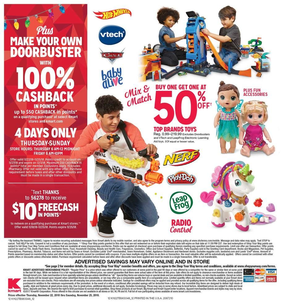 Kmart Black Friday Ad Scan Deals And Sales 2019 With Images