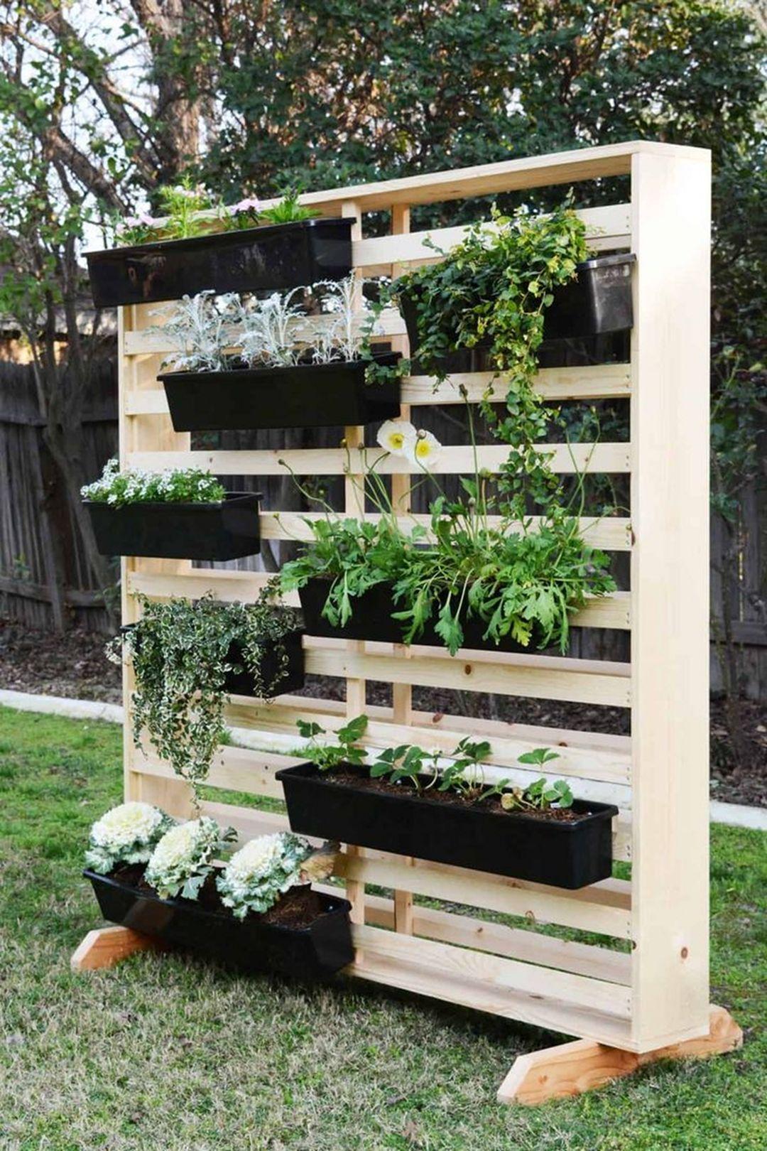 15 Affordable Diy Garden Ideas That Make Your Home Yard Amazing Teracee Vertical Garden Indoor Vertical Garden Diy Vertical Garden
