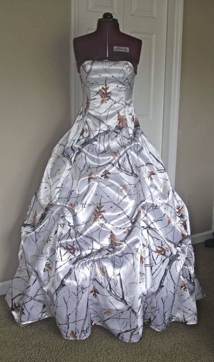 """Made & Sold by """"Camo Gowns & More"""""""