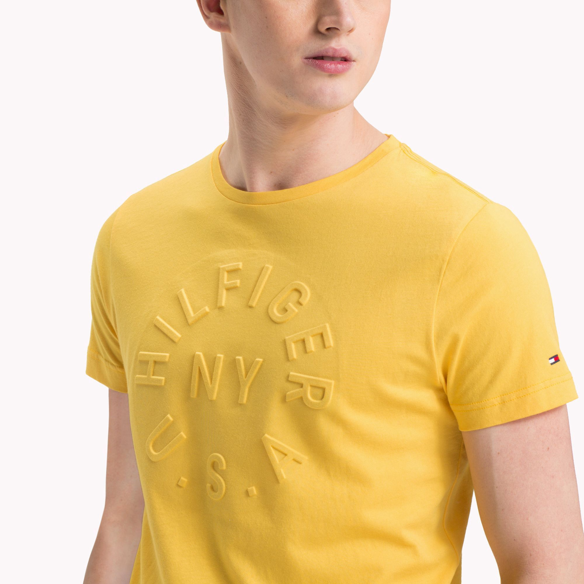 f21daeab Tommy Hilfiger Embossed Logo T-Shirt - Freesia L in 2019 | Products ...