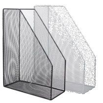 Wire Mesh Magazine Holder Inc Shared Shopping Cart Magazine holders Planners and Craft 30