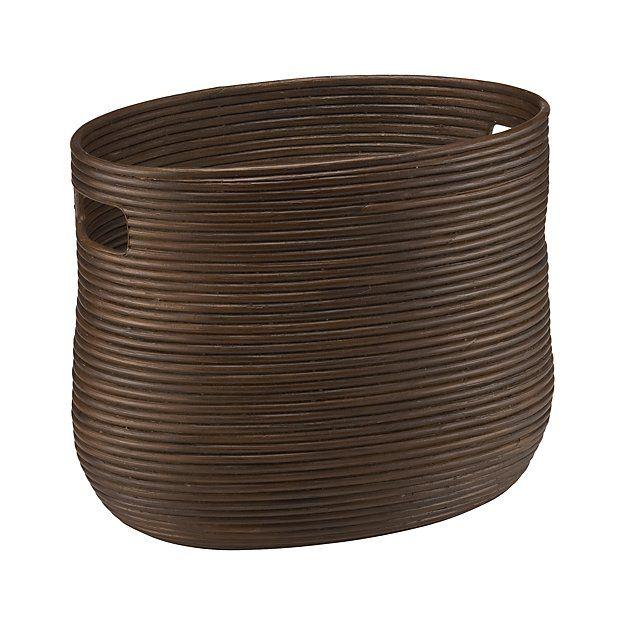 Galang Magazine Basket | Crate and Barrel