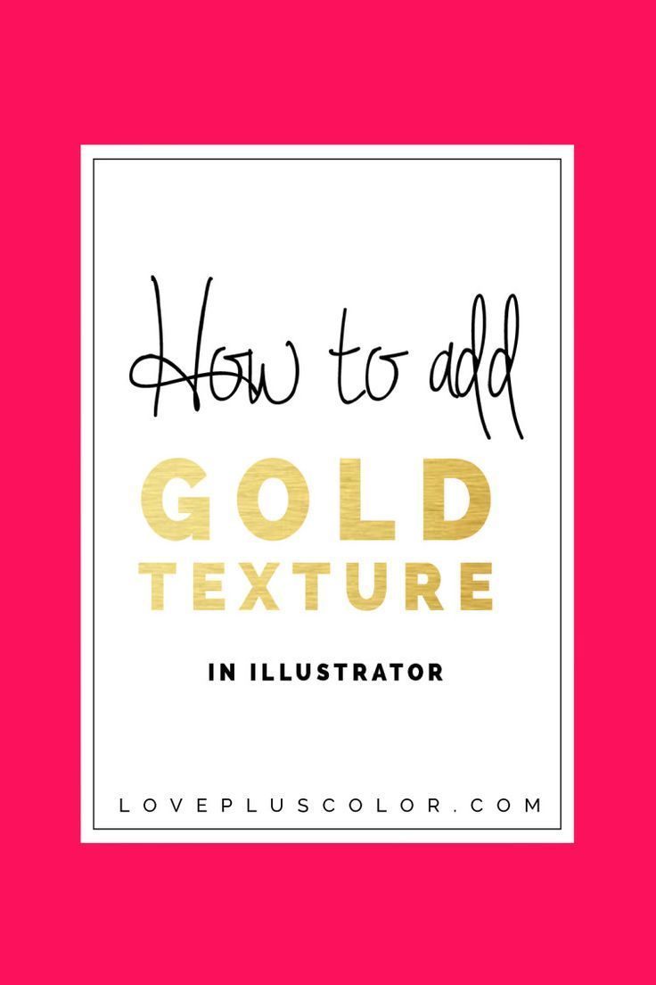 How To Add Gold Texture In Adobe Illustrator Adobe Illustrator
