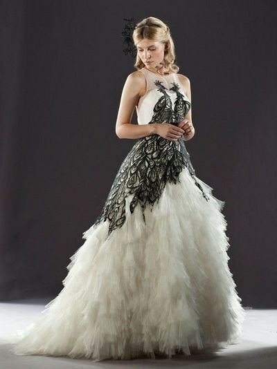 Fleur Delacour S Wedding Dress Harry Potter Wedding Dress Black
