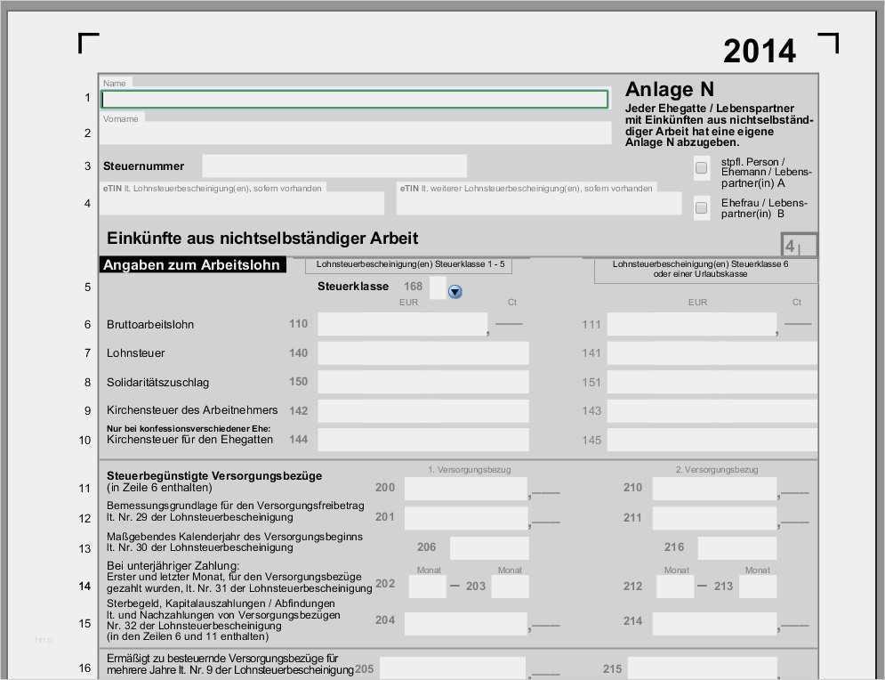 29 Angenehm Vorlage Fahrtkosten Steuererklarung Bilder