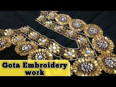 Gota Embroidery Work | Gota work | Gota patti by Ek Indian Ghar