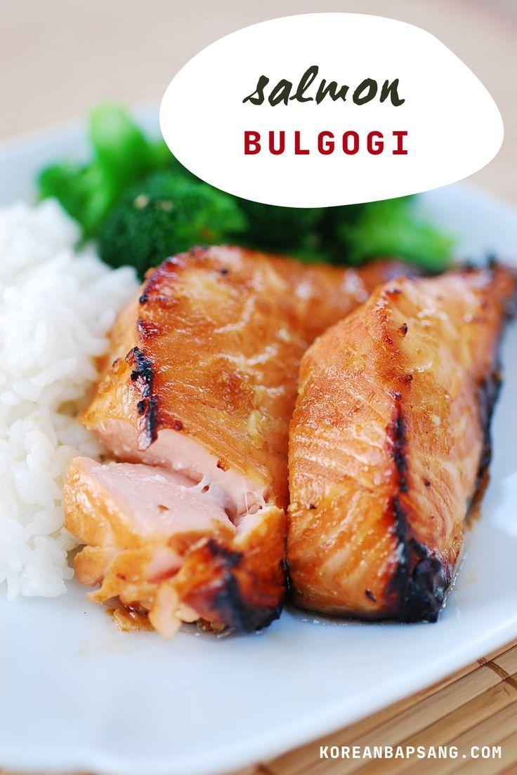 Salmon Bulgogi - Korean Bapsang | Recipe in 2020 | Bulgogi ...
