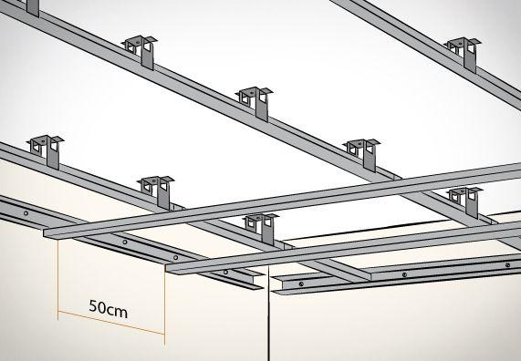 Sehr Decke abhängen – Schritt für Schritt | work | Trockenbau ideen LG35