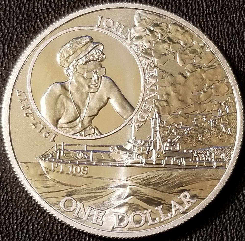 2017 Solomon Islands Silver John F Kennedy 1 Oz 999 Fine Silver Bullion Coin Silver Bullion Coins Silver Bullion Silver Coins