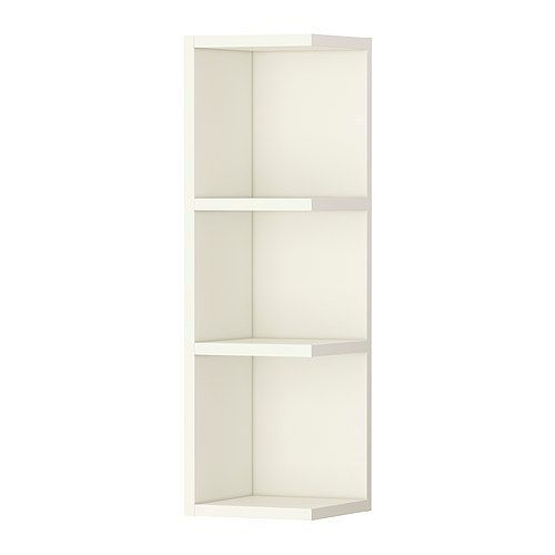 Ikea Corner Shelf Wall End Unit Cabinet Open Bathroom Storage