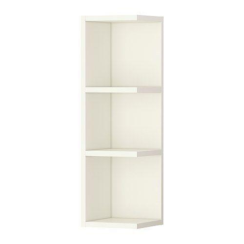 Ikea Corner Shelf Wall End Unit Cabinet Open Bathroom Storage