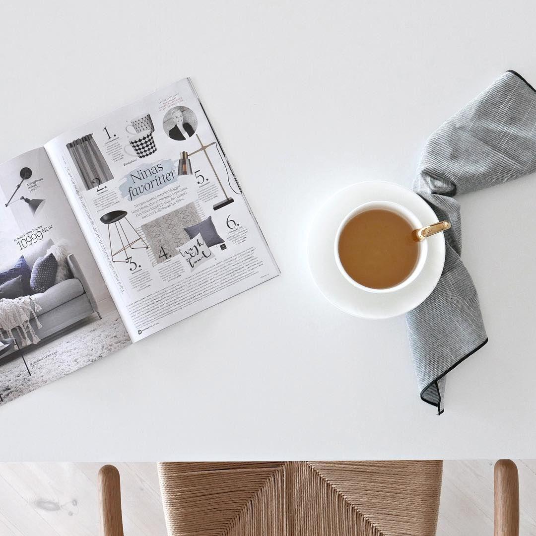 1,416 отметок «Нравится», 23 комментариев — Nina Holst (@stylizimoblog) в Instagram: «Morning read.. #elloshome #ninasfavoritter»