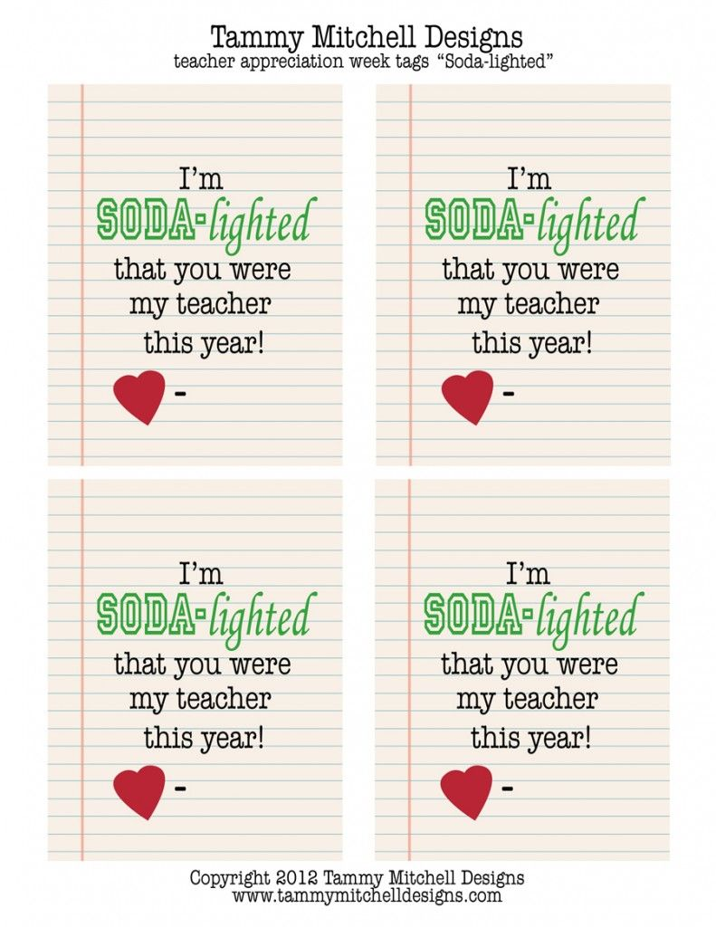 Teacher Appreciation Week Sayings: Make This  Free Printable Teacher Appreciation Week Creative Gift    ,