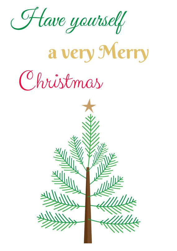 have yourself a very merry christmas by zookeeperjessi on etsy - Have Yourself A Very Merry Christmas
