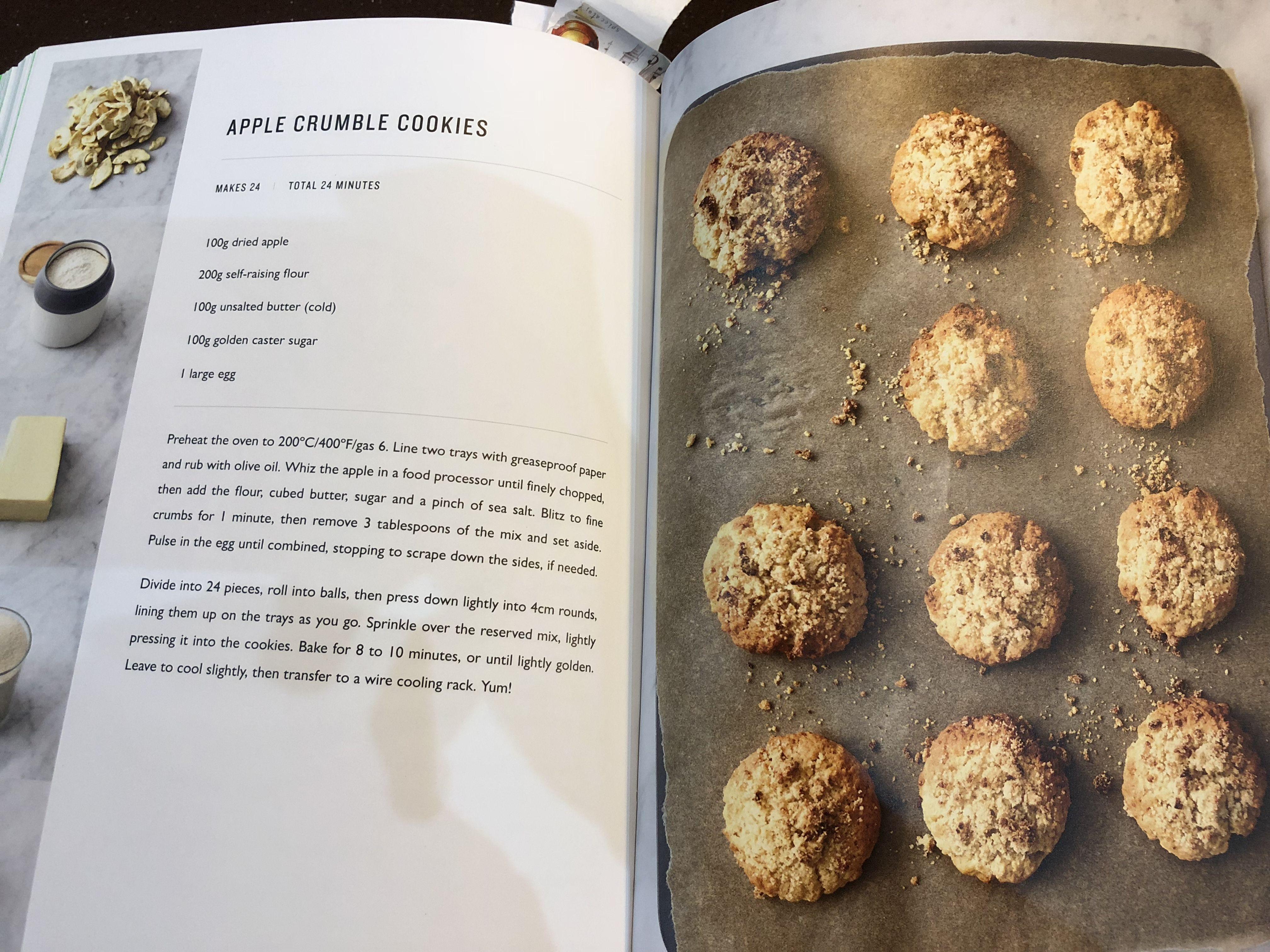 Apple Crumble Cookies Jamie Oliver 5 Ingredients Jamie Oliver