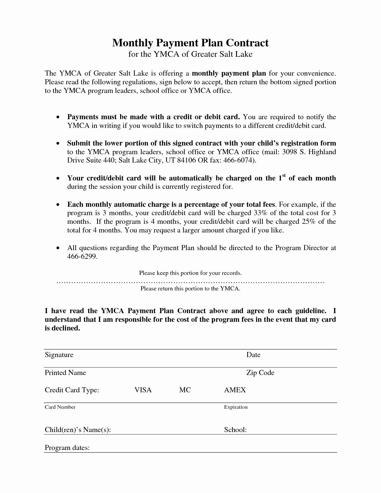 Monthly Payment Plan Template Awesome 27 Of Monthly Car Payment Contract Template Statement Template Elementary Lesson Plan Template How To Plan Monthly payment plan agreement template