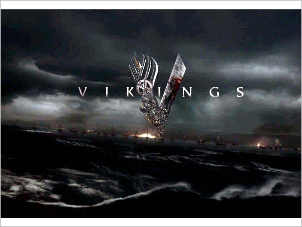 Vikings Tv Series Logo Wallpaper 4k In 2020 Vikings Tv Show Vikings Tv Series Viking Wallpaper