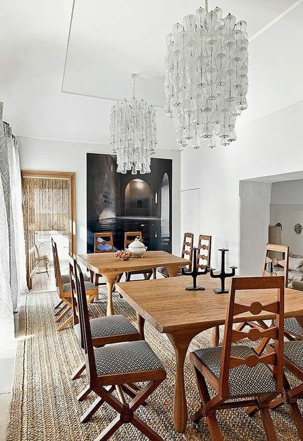 107 Idées Fantastiques Pour Une Salle À Manger Moderne  Dinner Table Unique 107 Dining Room Inspiration Design