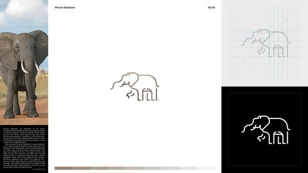 Pictograms Inspired By Animals - UltraLinx