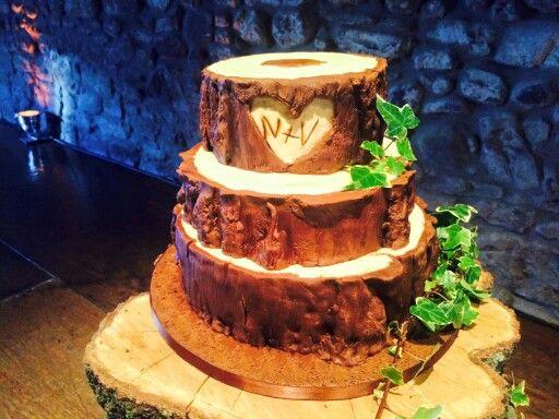 My scrumptious wedding cake by a bonnie wee cake