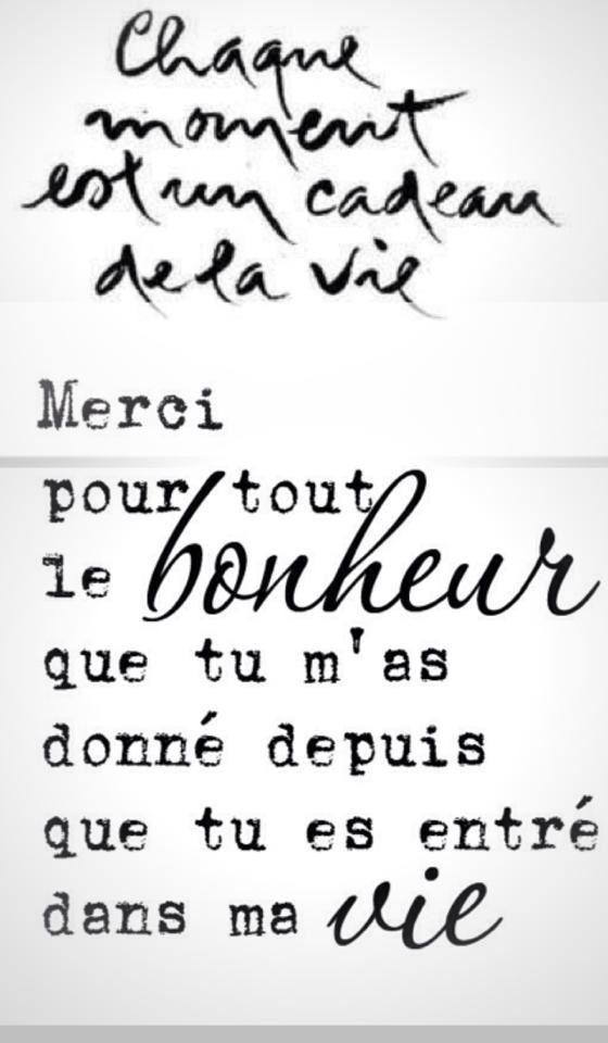 Tu Es Entré Dans Ma Vie : entré, MerciMDC, Quotes,, Words,, Quotes