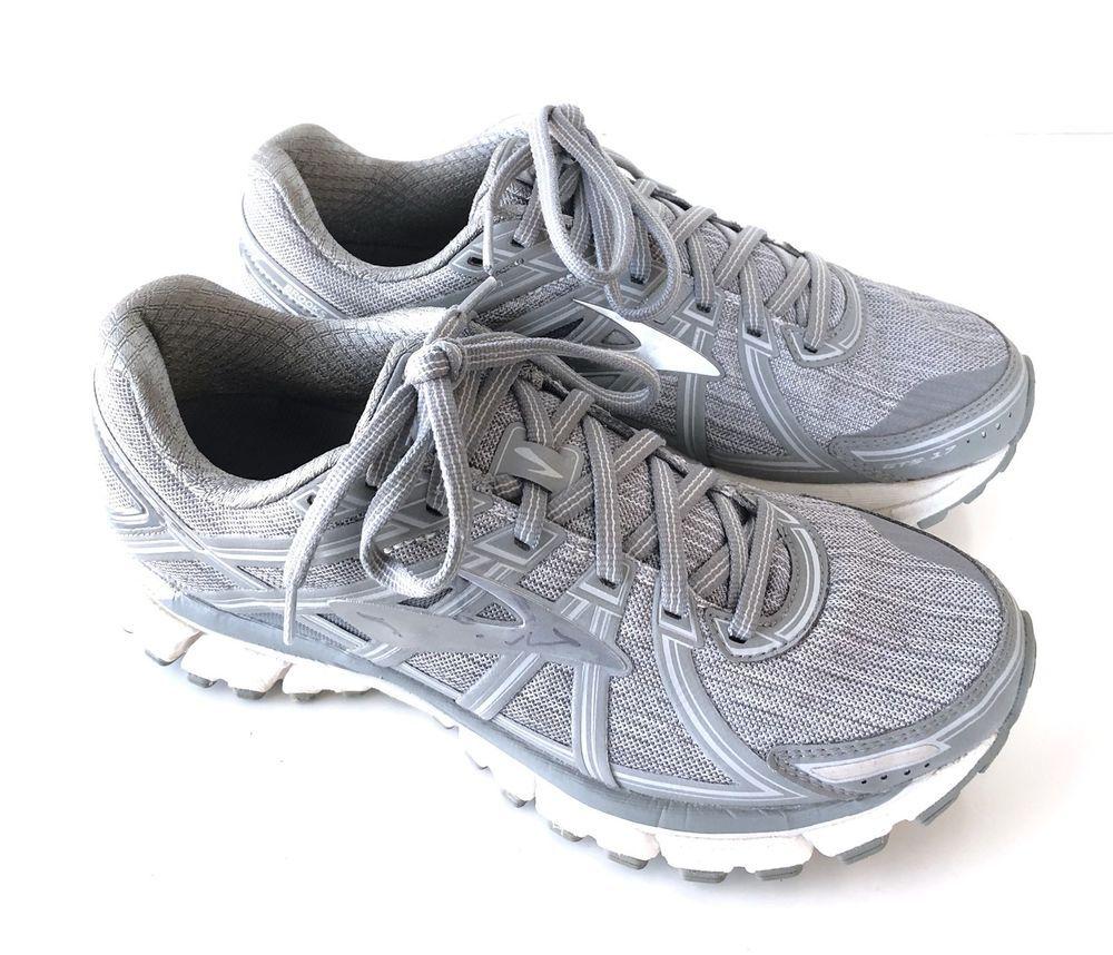 Brooks Women S 8 5m Adrenaline Gts 17 Gray Running Shoes 1202311b120 Running Shoes Shoes Brooks
