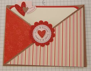 Stampin Up Love You Much Criss Cross Valentine Card Tutorial