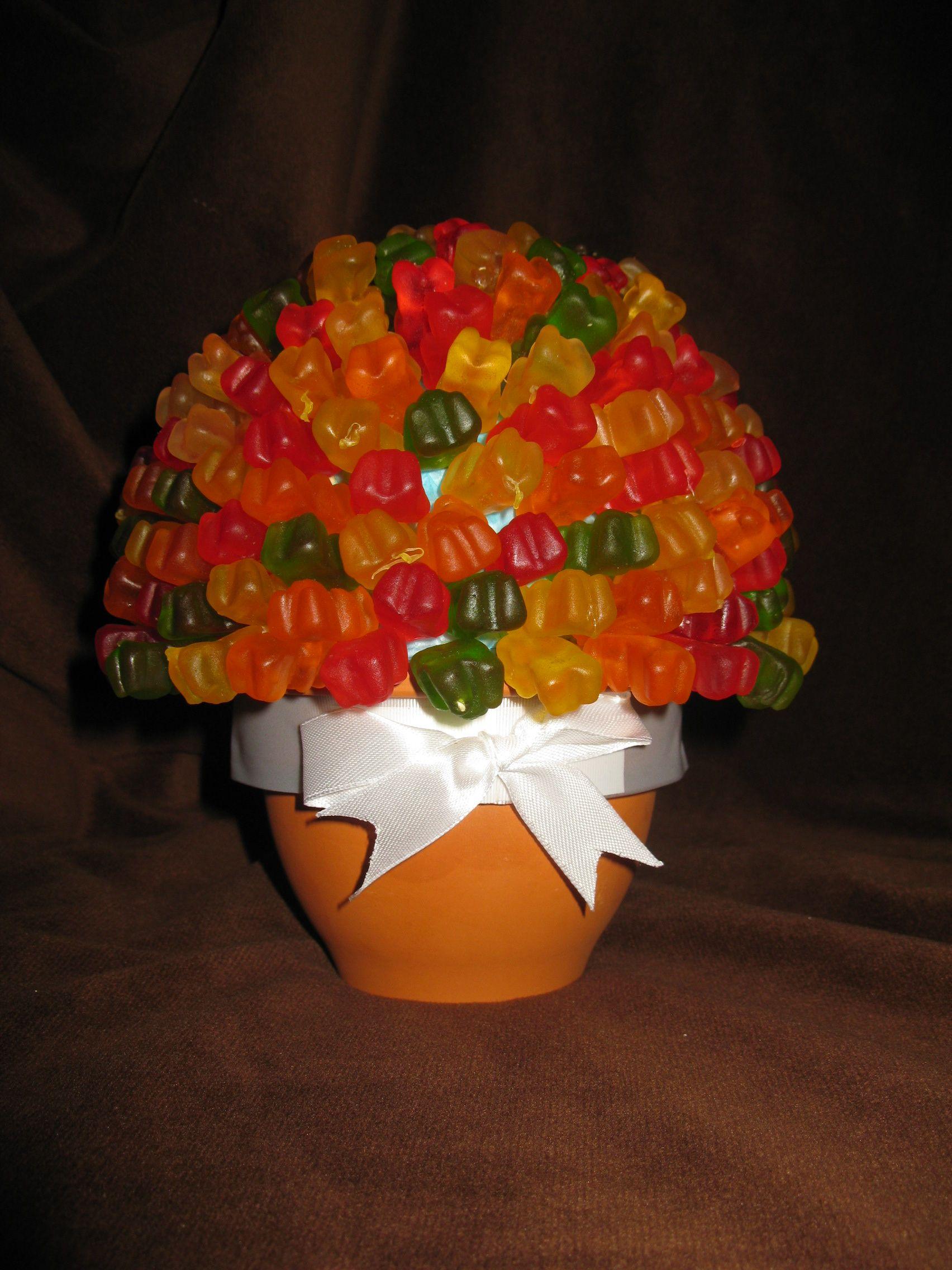 Gummy Bears Candy Bouquet Gummibears 1st Birthday