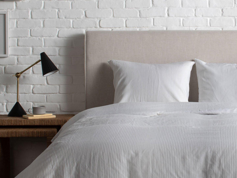 Striped Duvet Cover Set Bed Linens Luxury Striped Duvet