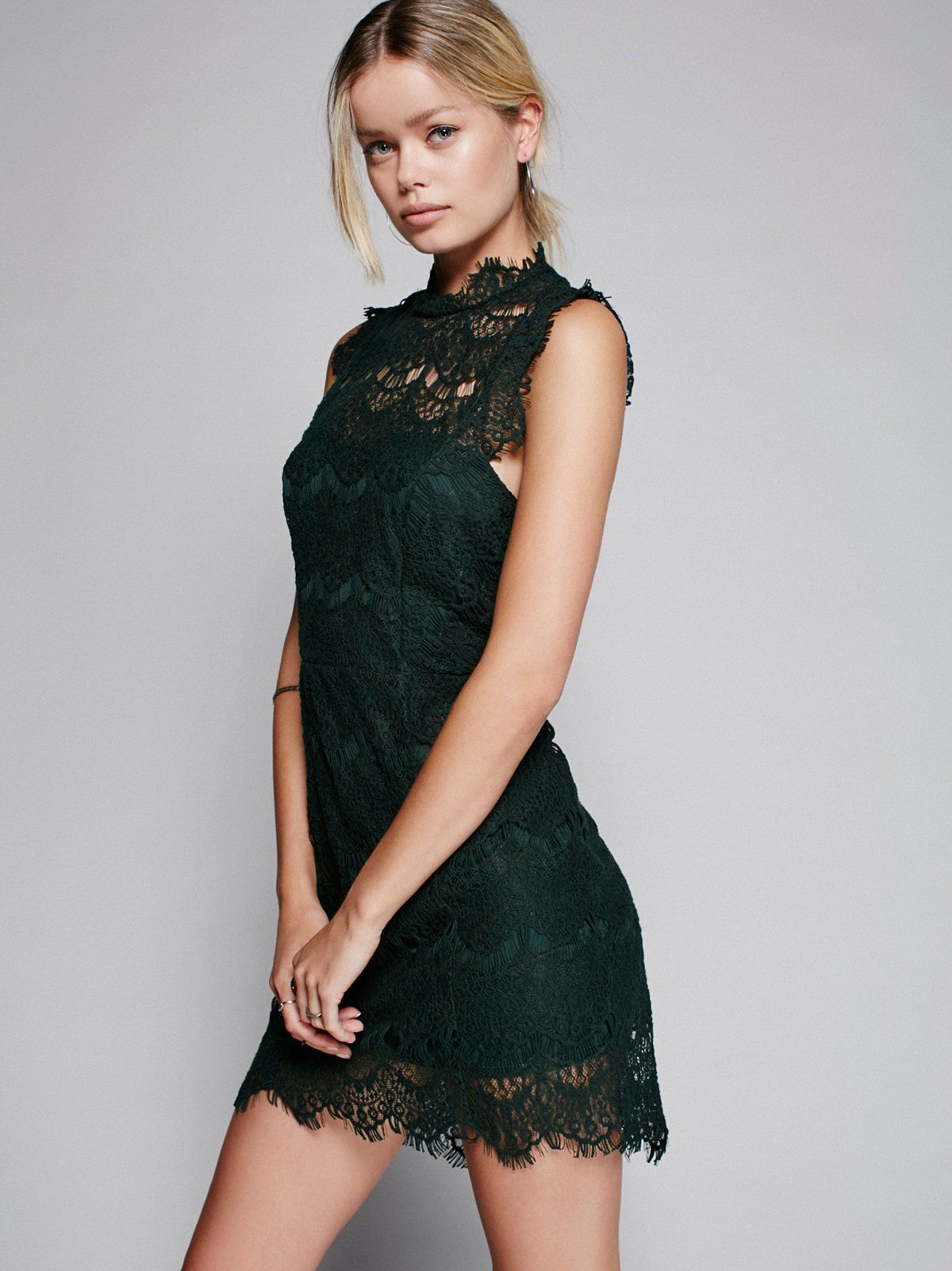 Daydream Bodycon Slip (With images) Fashion models, Lace