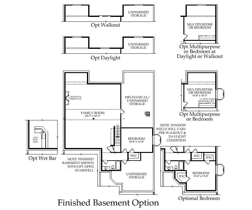 floor plan Basement Options (With images) Floor plans