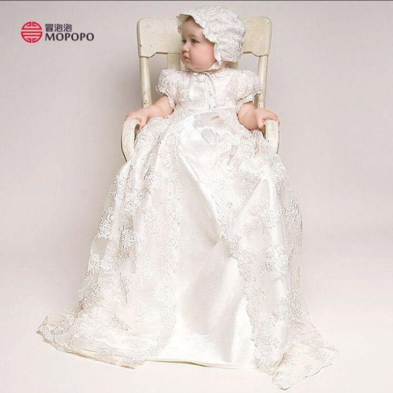 Click to Buy << 2017 Newborn Girl Baby Baptism Dresses Christening ...