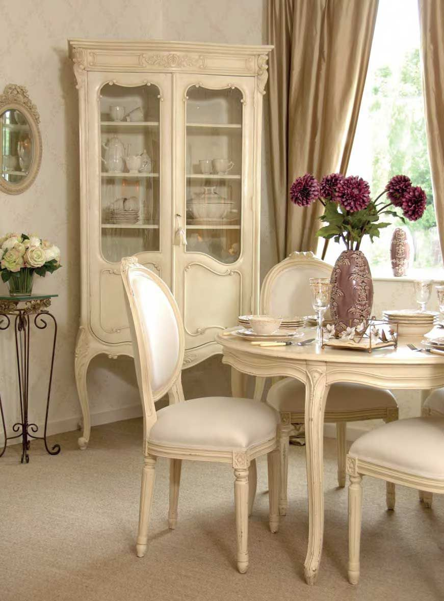 Best New French Reproduction Style Painted Cream Furniture 400 x 300